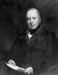 Sir George Cayley  British aviation pioneer  c 1820.