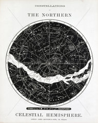 'Constellations of the Northern Celestial Hemisphere'  c 1850.