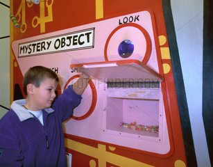 'Mystery Object' exhibit  'Things' Gallery  Science Museum  London  2000.