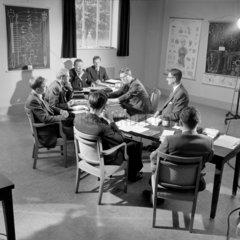 A conference of pharmaceutical representatives  CIBA  Horsham  1960.