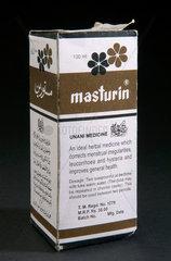 Masturin  herbal medicine  Pakistan  c 2004-2005.