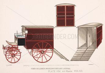 Animal van  c 1903.