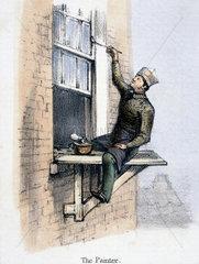 'The Painter'  c 1845.