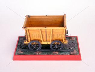 Cinderford Tramway Wagon  c 1809. Model (sc