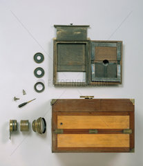 'Le Grand Photographe' whole plate daguerreotype camera  c 1840.