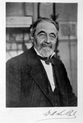 Joseph Achille Le Bel  French co-founder of stereochemistry  c 1910.