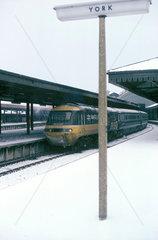 Inter-City train  1987.