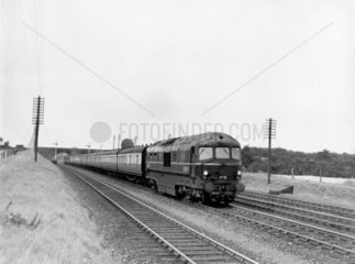 LMS steam turbine locomotive  No. 6202 after Harrow Station Accident 1952