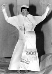 Action Man in pope outfit  March 1982.