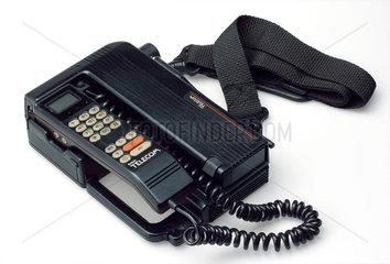 Portable telephone.
