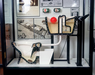 'How a WC works' display  Science Museum  c 1997.