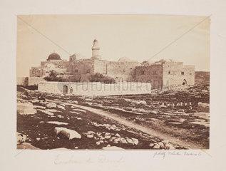 'Tombeau de David'  1857.