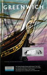 'Greenwich'  BR (SR) poster  1958.