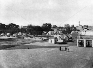 General view of Jaipur Observatory  India  1915.