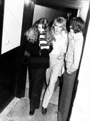 Rod Stewart and female companion  November 1978.