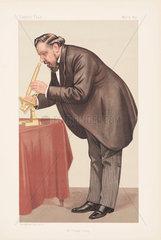 Frank Crisp  English lawyer  botanist and eccentric  1890.