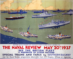 'The Naval Review  May 20th 1937'.