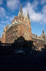 St Pancras Hotel  London  1988.