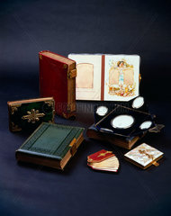 Photograph albums  19th century.