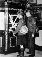 Cinemas reopening today  c 1939-1945.