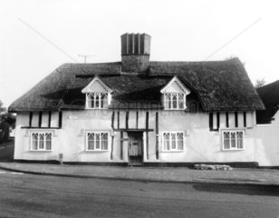 Thatched cottage  August 1986.