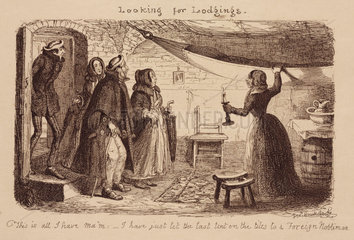 'Looking for Lodgings'  1851.