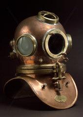 Diving helmet made by Siebe-Gorman & Company Ltd  19th century.
