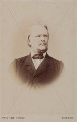 Rudolf Leuckart  German zoologist  c 1870s.