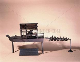 Model 'Comet' corn mill  1753.