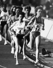 Zola Budd and Mary Decker  July 1983.