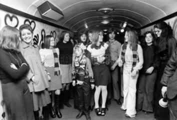 League line  January 1973.