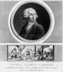 Antoine Lavoisier  French chemist  1788.