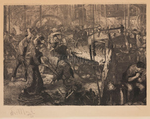 'The Foundry'  1883.