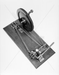Machine for winding cotton into balls  1802.