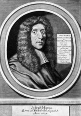 Joseph Moxon  English hydrographer and mathematician  late 18th century.