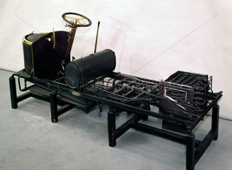 Chassis of Gardner-Serpollet steam car  1903.