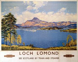 'Loch Lomond'  BR poster  1959.