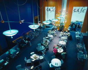 The Science Museum cafe on the ground floor