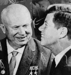 Khrushchev and Kennedy  April 1961.