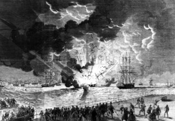 Lottie Sleigh explosion  Merseyside  1864.