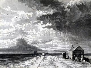 Chat Moss  near Liverpool  1831.