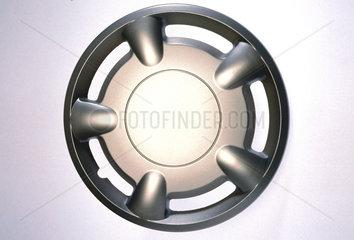 Motor car wheel hub cover  1990s.