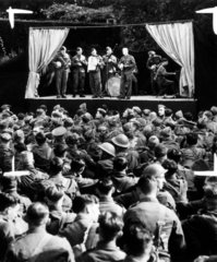 Army open air concert for troops  1939. A c