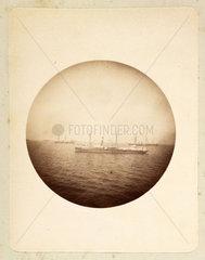 Naval manoeuvres  1888.