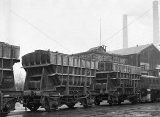 PresFlo cement wagons  c 1960.