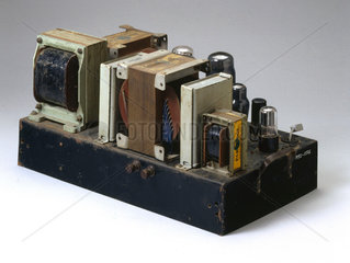 Williamson home constructed amplifier  c 1949.