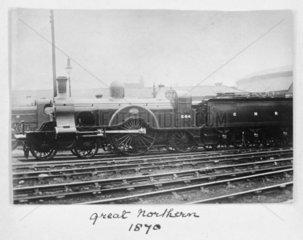 Great Northern Railway locomotive  1870.