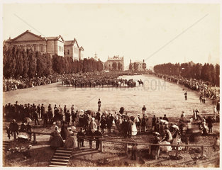 'Champs de Mars'  1860.