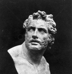 Bust of Patroclus  c 1841.