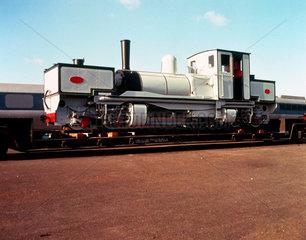 Tasmanian Railways 0-4-0 Garrett locomotive  1909.